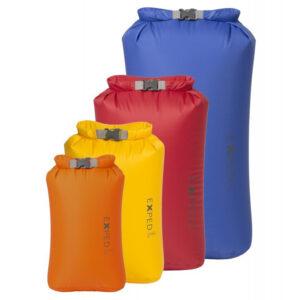 Lyon Fold Drybags XS-L 4 Pack Bright