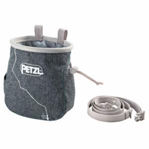 Petzl Saka Chalk Bag Mottled Grey