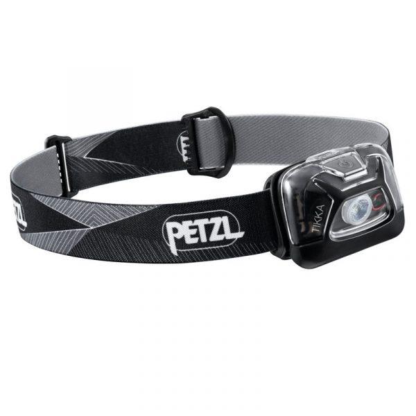 Petzl Tikka Head Torch Black1