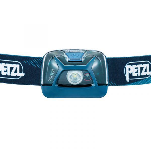 Petzl Tikke Head Torch Blue - Front