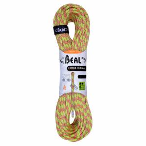 Beal Cobra II 8.6mm Dry Cover Rope, Anis
